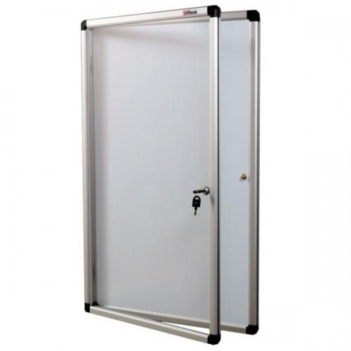 Gablota - drzwi uchylne