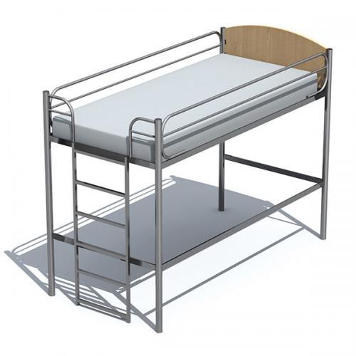 Łóżko z miejscem na biurko F