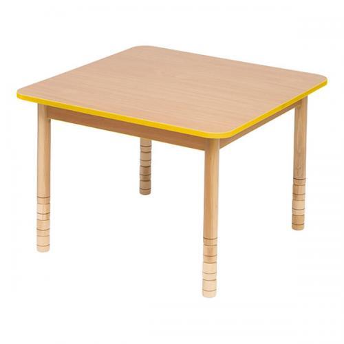 Stół drewniany kwadratowy