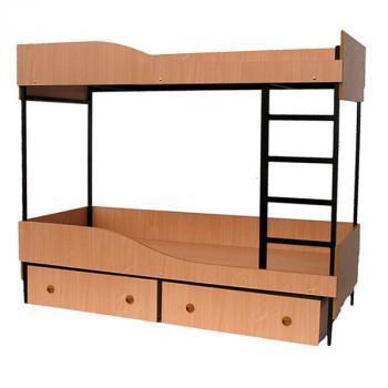 Łóżko piętrowe B