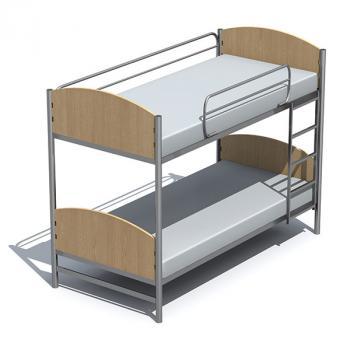 Łóżko piętrowe E